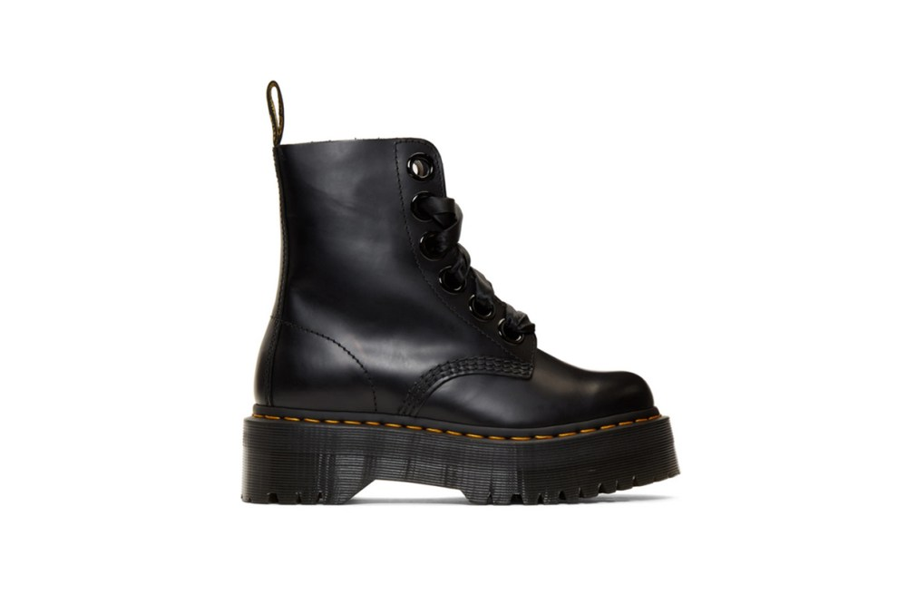 Dr. Martens Black Molly Boots