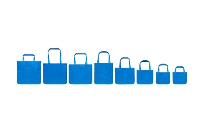 別再只有 IKEA:現在討論度最高是這個「藍色提袋」,只出一個款式 8 個不同尺寸!