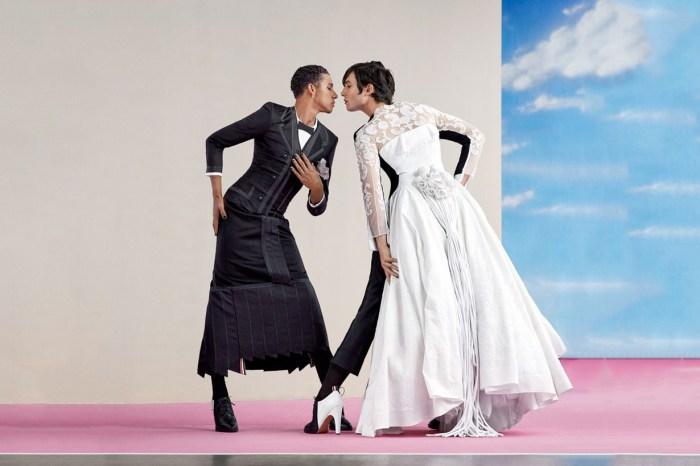 誰能不愛 Ezra Miller?穿上男人最夢幻婚紗登《Vogue》,都只為了一件事!