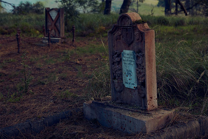 Game of Thrones grave of thrones got cemetery syndey australia