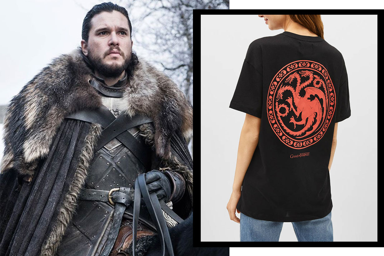 Game of thrones Bershka collection