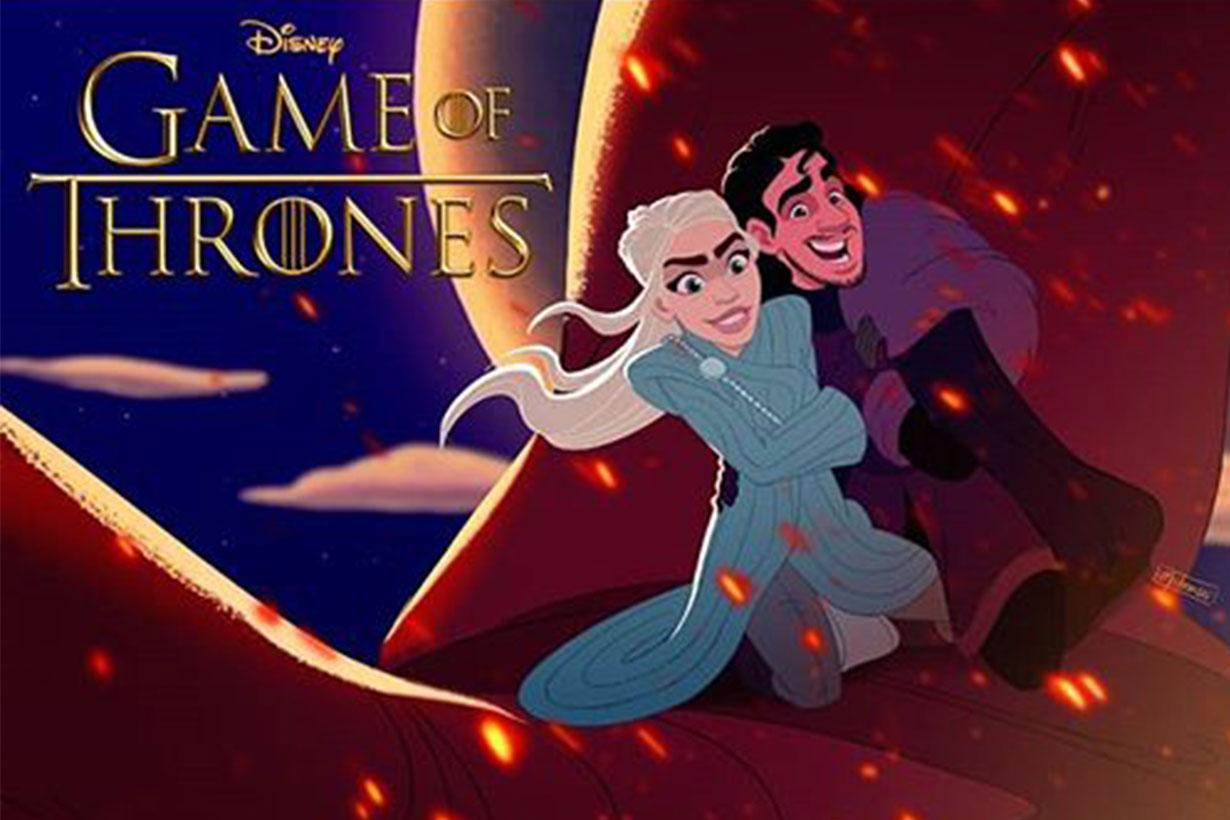 Game of thrones disney artists imagine