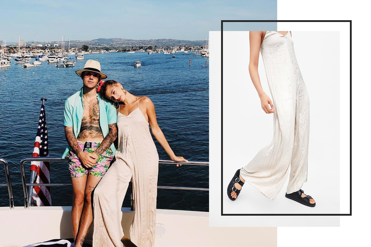Hailey Bieber's $50 Zara Outfit Is Chic Enough to Sell Out