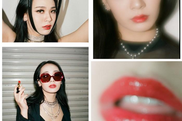 CL 親妹 Harin 另類演繹 CHANEL 全新 Rouge Coco Flash 唇膏,光影間綻放獨特性感美