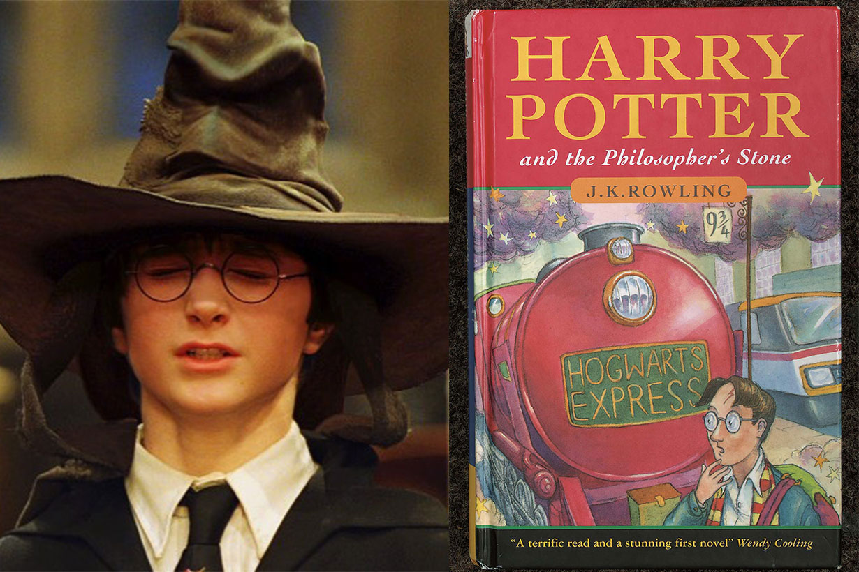 Harry Potter and the Philosopher's stone auction 2019