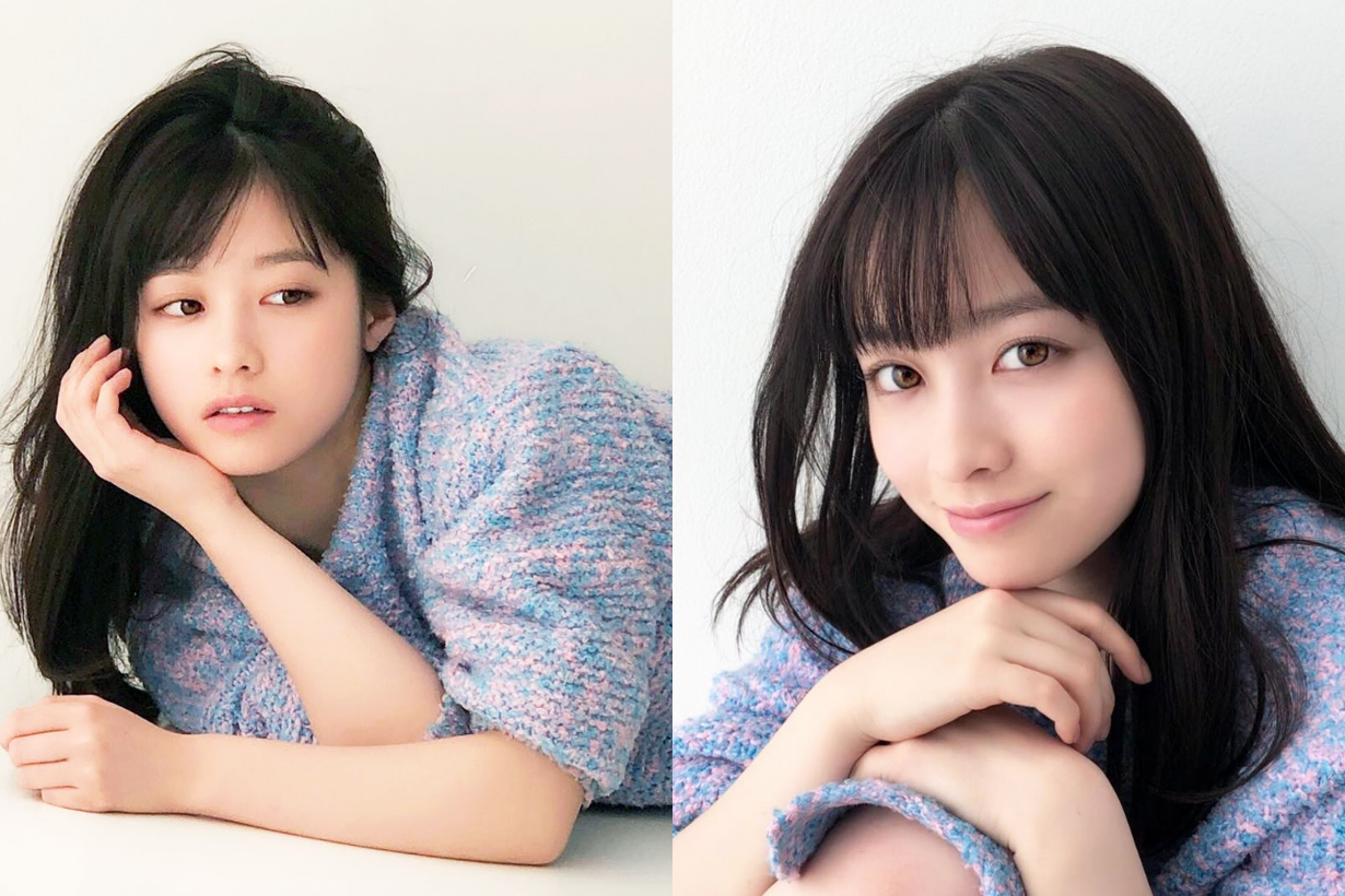 Hashimoto Kanna AR Magazine Cover sexy style J Pop Japanese idols celebrities singers