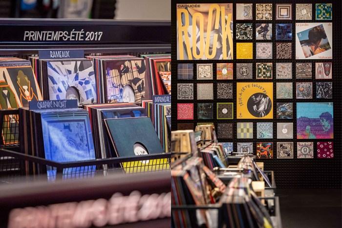 POPSPOTS in Taipei:上週末,Hermès 在台北開了一間黑膠唱片行!