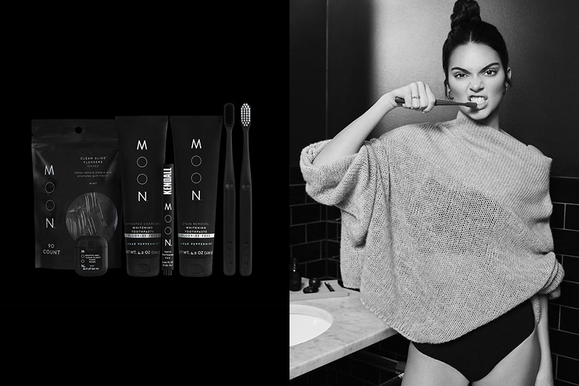 Kendall jenner Shaun Neff moon oral care