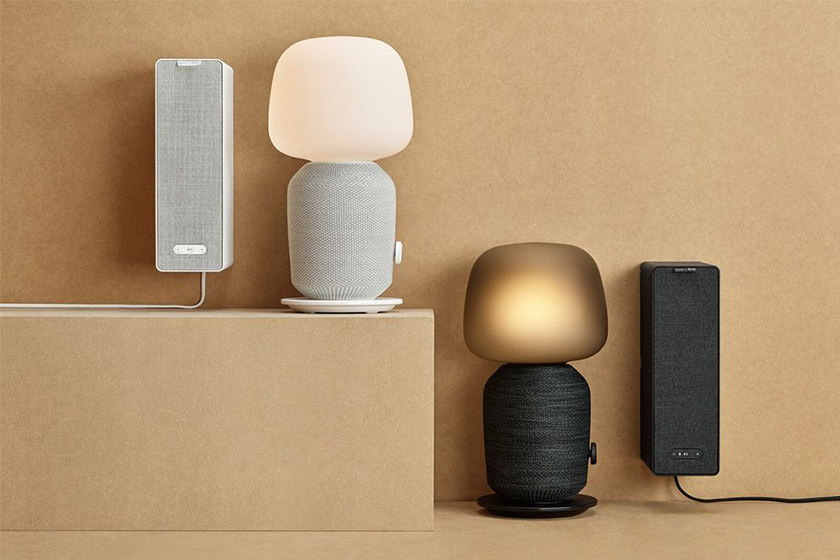 ikea sonos symfonisk speaker lamp shelf official look