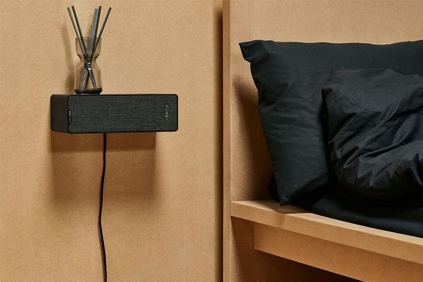ikea sonos symfonisk speaker lamp shelf official look