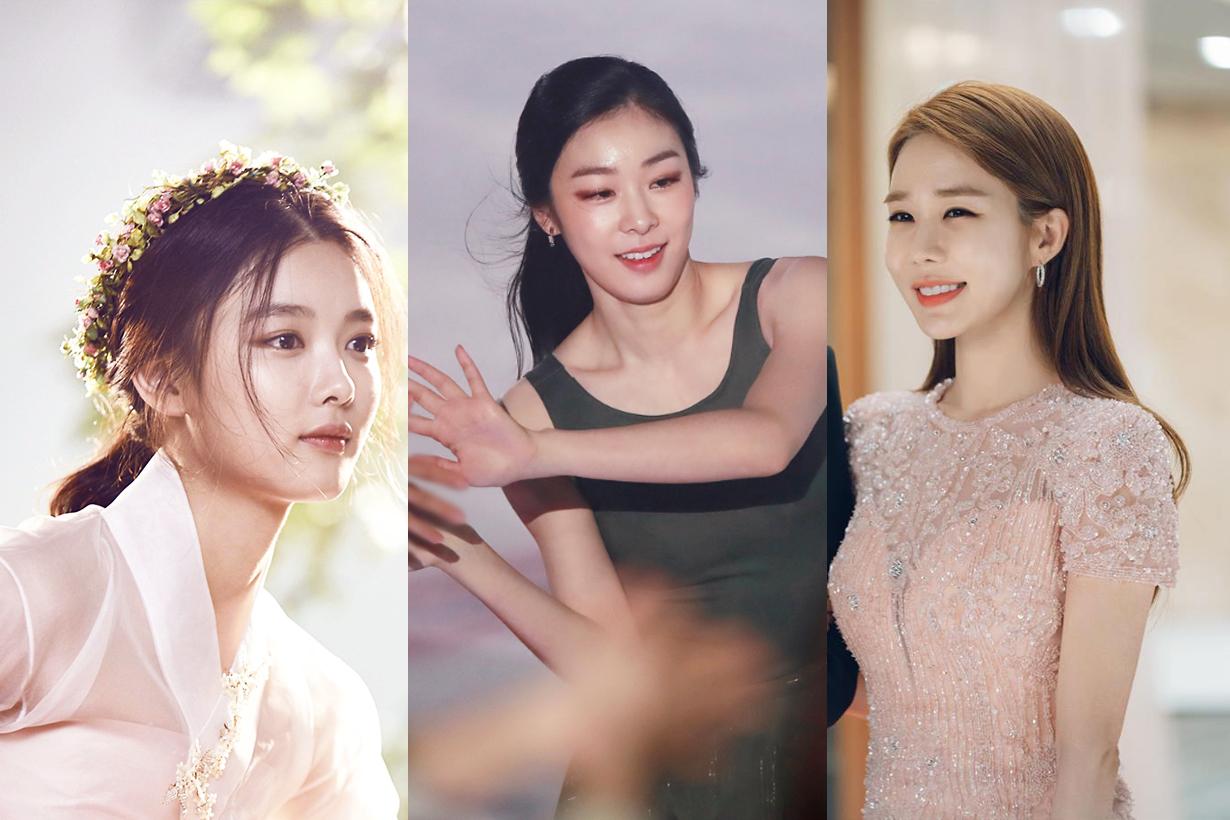 IU Lee Ji Eun Yoo In Na Kim Yuna Kim Yoo Jung Park Bo Young Korean netizens voting ideal celebrities singers actresses ice skiing athlete idols