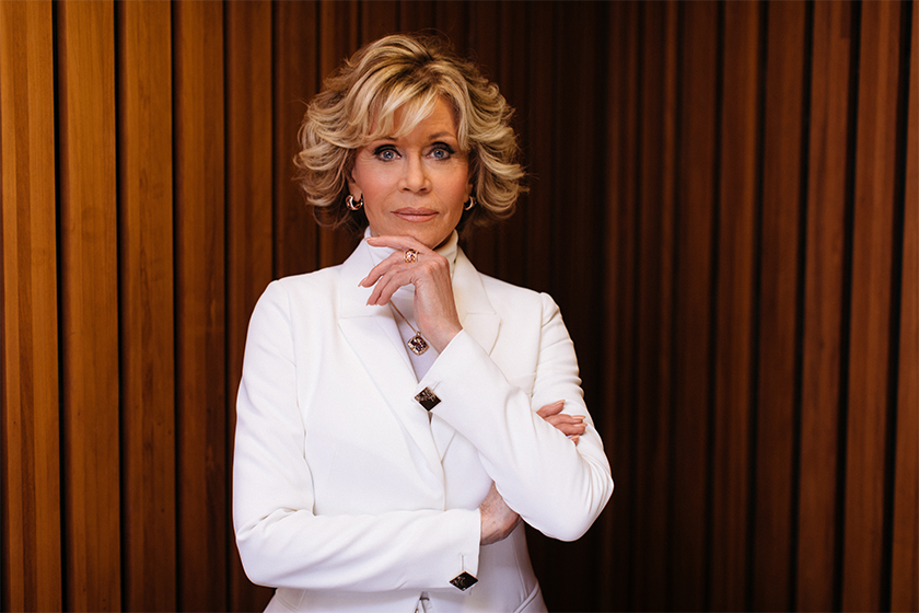 Jane Fonda British Vogue Covers at the age of 81