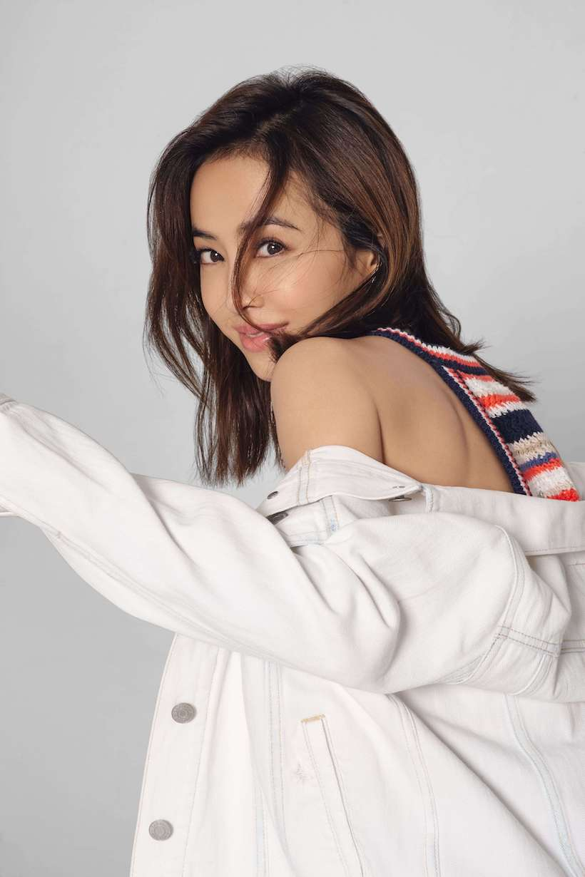 jolin gap denim style tips