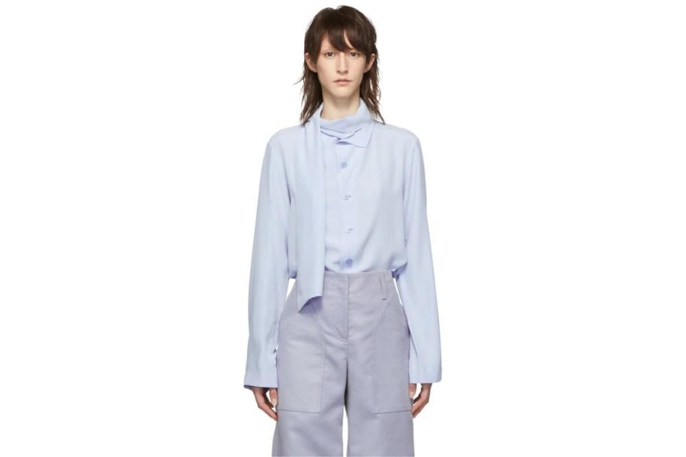 Joseph Blue Amine Shirt