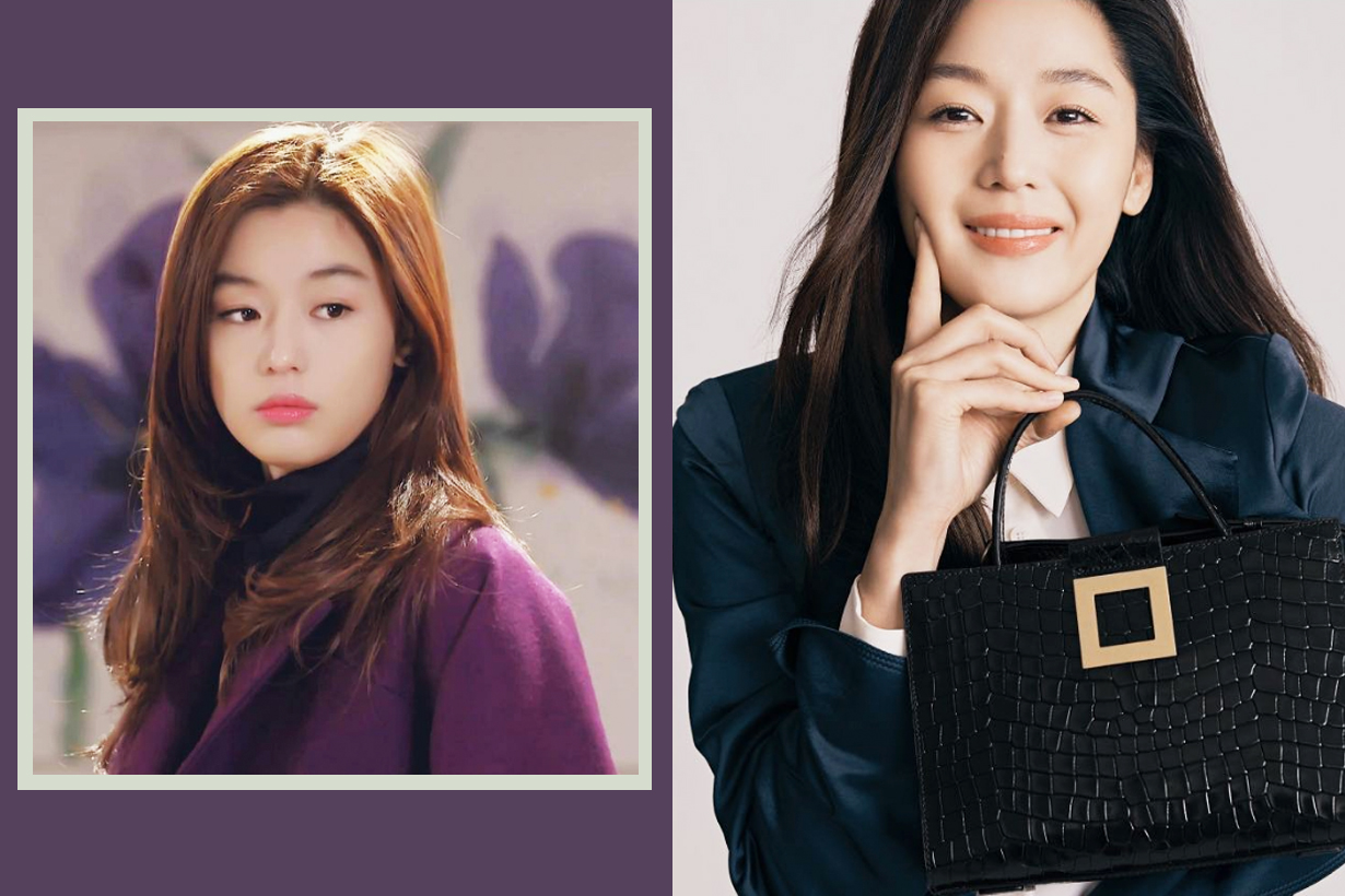 Jun Ji Hyun Gianna Rouge & Lounge Handbags Event My Love from the Star Cheon Song Yi Gabriela Hearst Celebrities Style k pop korean idols celebrities actresses