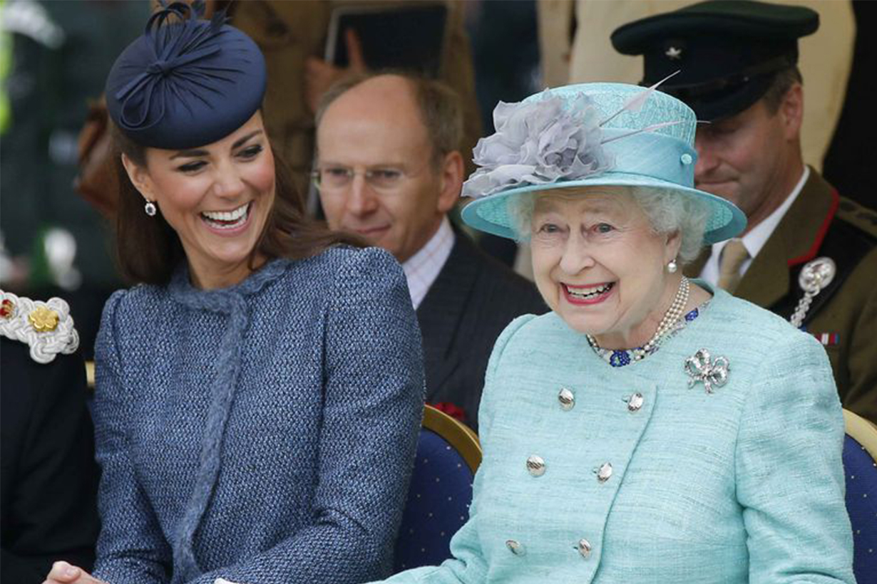 Kate Middleton and Queen Elizabeth II's Relationship