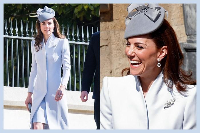 婚變傳聞後首度現身,凱特用一套衣服來低調回應謠言?