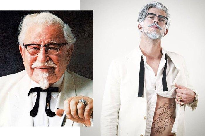 肯德基改形象!爺爺「整容」變性感男模,他的真實身份會嚇你一跳