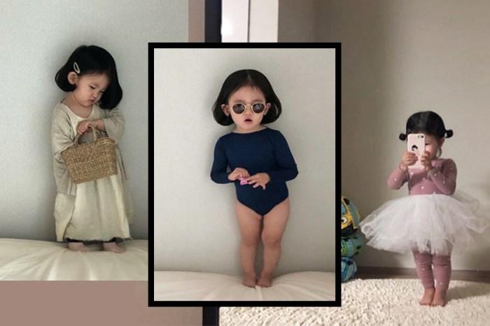 比你和我都時尚!4 歲的她就這樣每天對鏡自拍,專業記錄自己的 #OOTD!
