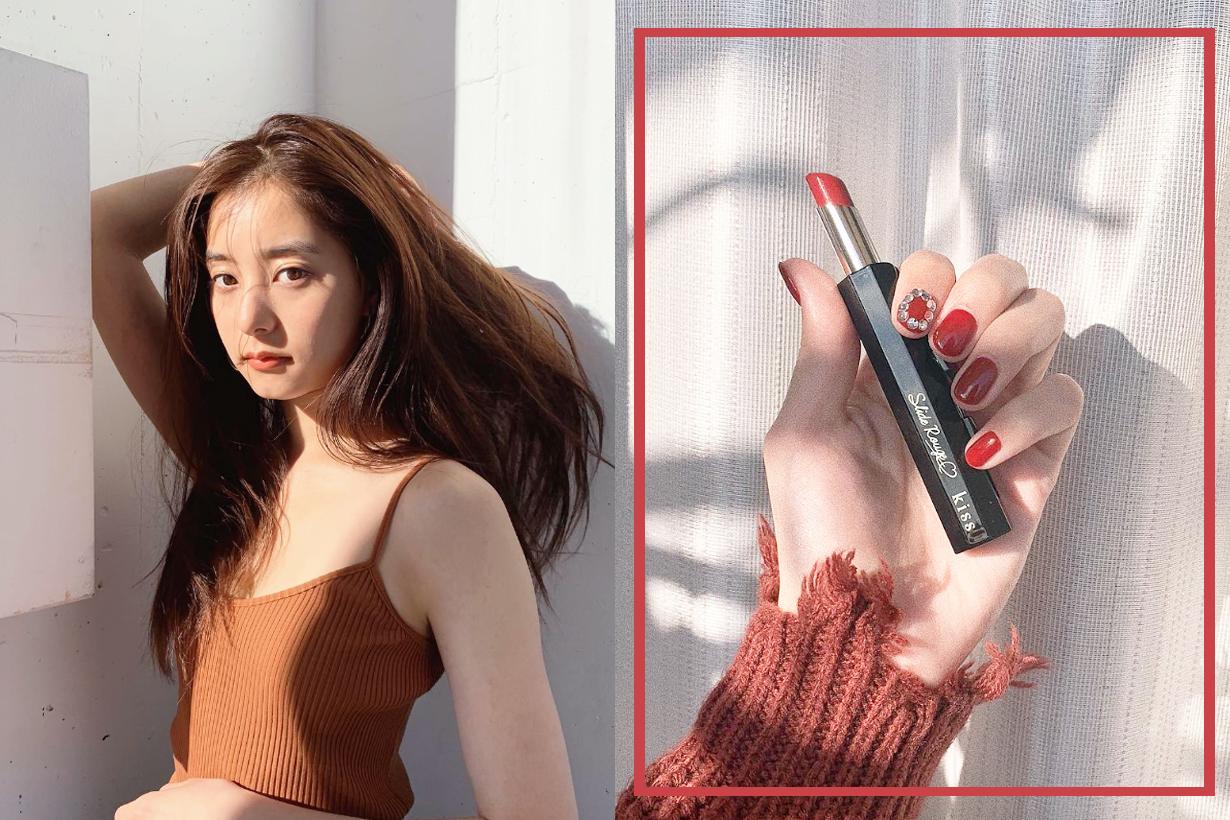 Kiss Cosmetics Lipsticks with one hand 3 second Japanese Makeup Cosmetics lipsticks trend