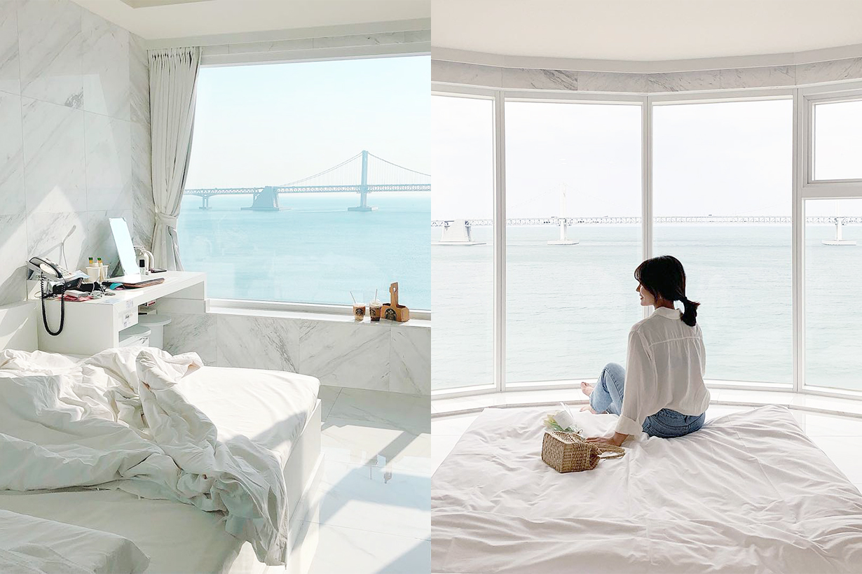 Korea Busan Hotel 1 SNS Korea Travel Tips travel accommodation sea view ocean view cafe Gwangandaegyo Diamond Bridge