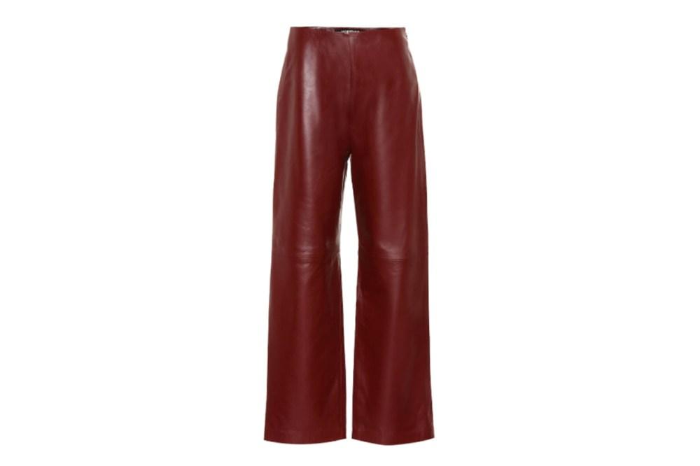Jacquemus La Pantalon Jalad leather pants