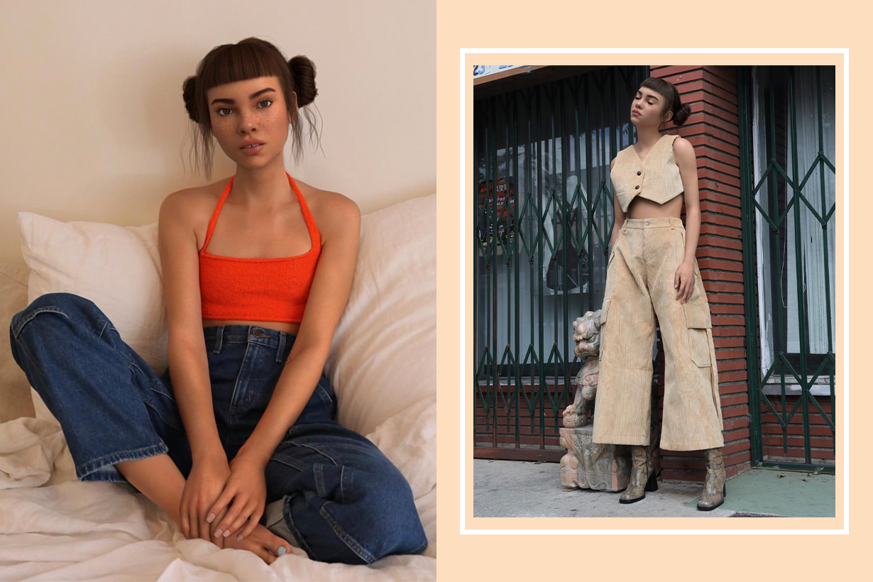 CGI Influencer Lil Miquela Launches Club 404 Clothing Line