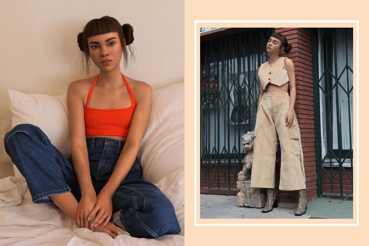 CGI Influencer Lil Miquela Launches Club 404 Clothing Line