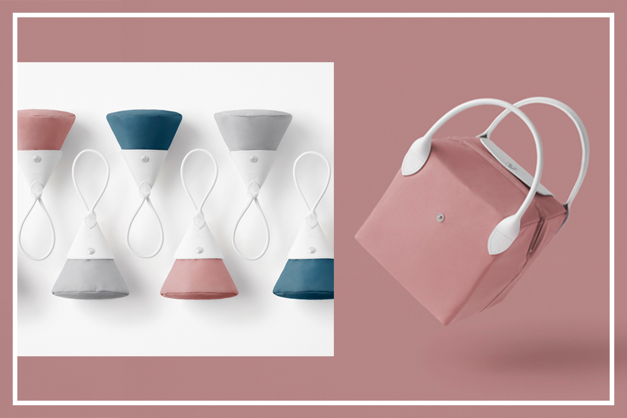 Longchamp X Nendo Katachi Collection Designs Combines Handbags and Living Accessories In One