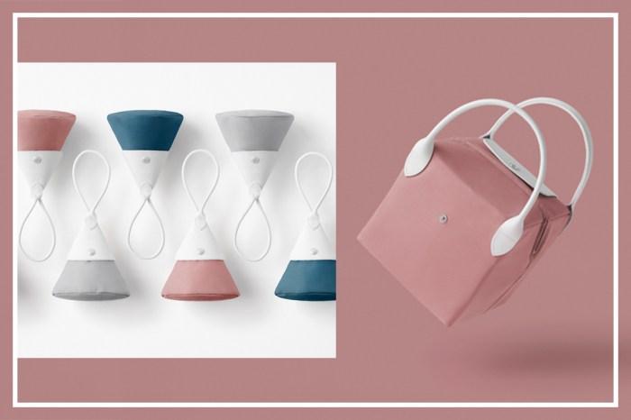 一個手袋百種形態!日本設計 Nendo 為 Longchamp 經典袋款重新改造驚艷面貌
