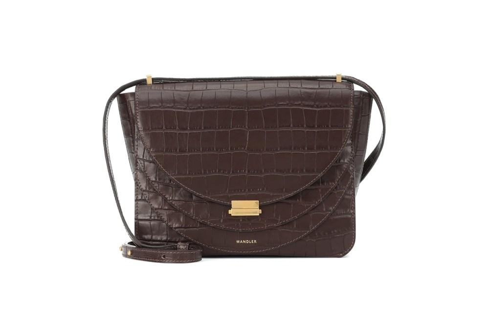Wandler Luna Leather Shoulder Bag