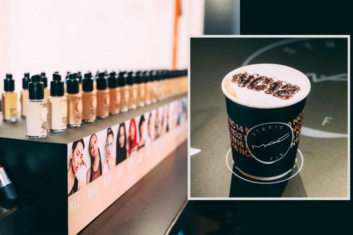 底妝跟咖啡有什麼關係?M.A.C 竟然為皇牌粉底液開專屬 CAFÉ!
