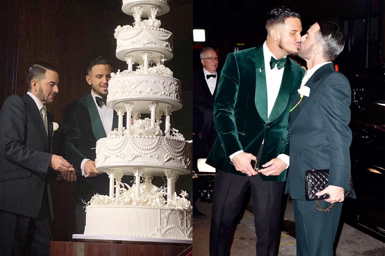marc jacobs wedding Char Defrancesco detail new york