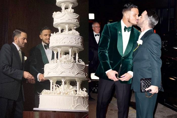 恭喜 Marc Jacobs 結婚!在初相識的連鎖餐廳訂下終生:「企鵝一生只會有一個伴侶」