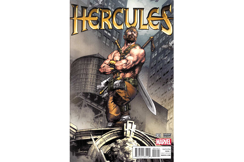 Marvel The Eternals Hercules gay