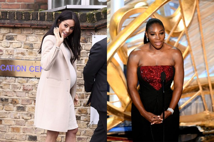 好友 Serena Williams 這樣一說,就是洩露了梅根肚中的是小公主?