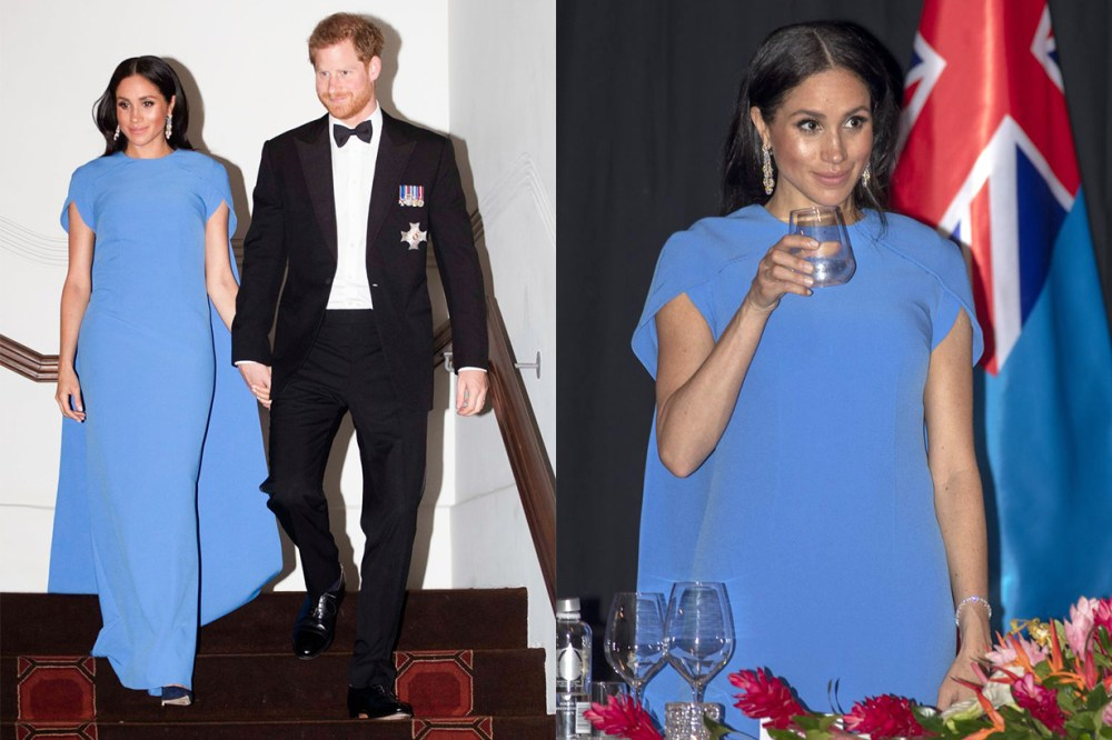 Meghan Markle Prince Harry Fiji Dinner