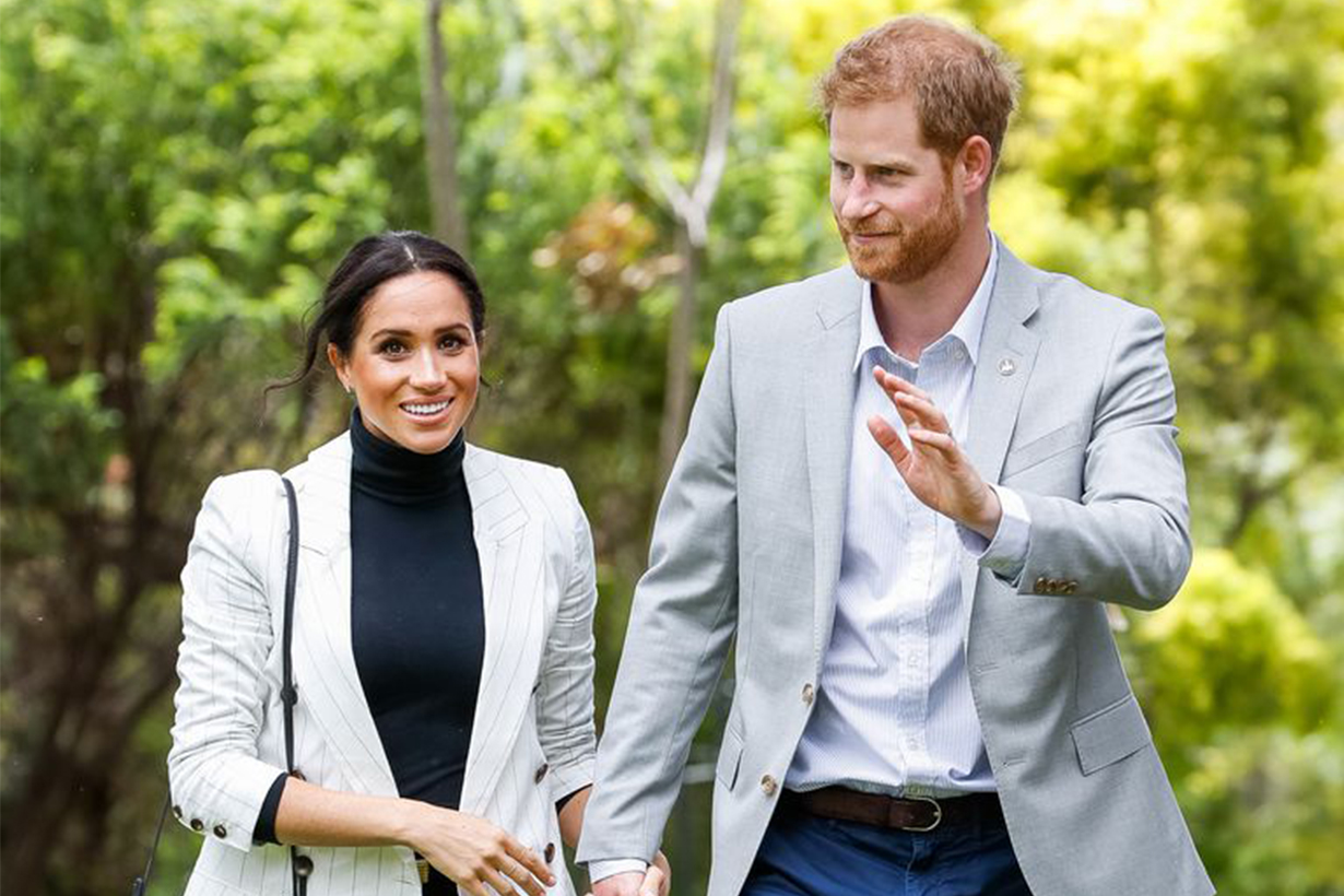 Prince Harry and Meghan Markle's deleted Instagram post