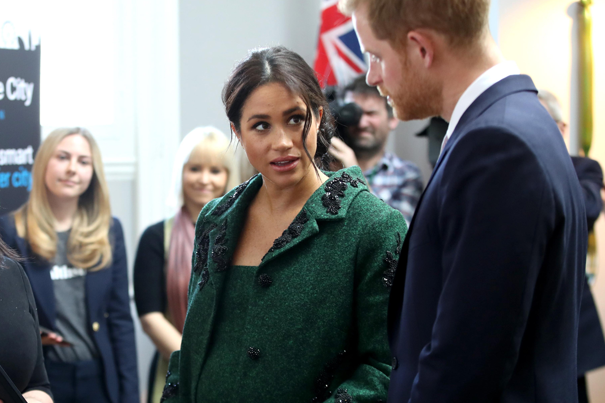 meghan markle prince harry royal baby nanny salary condition