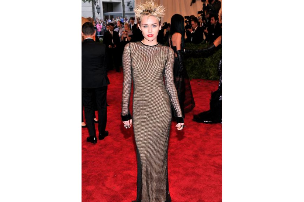 Miley Cyrus Met Gala Look