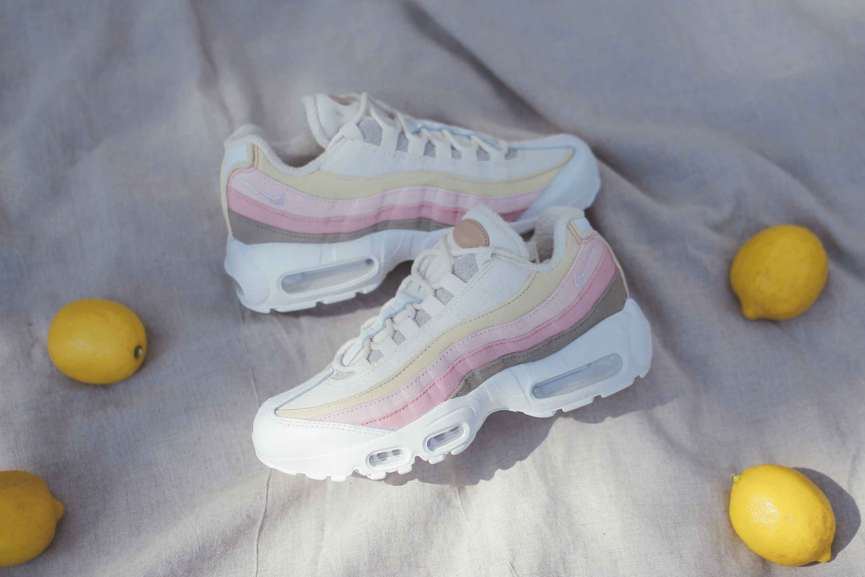 Nike Air Max 95 The Plant Color Collection Spring Pink Sneaker