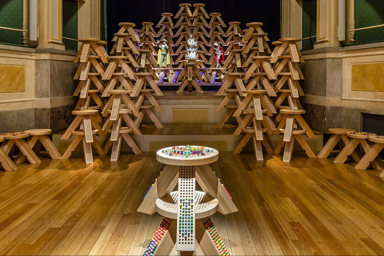 """MIU MIU M/MATCHING COLORSTOOL"" AT FUORISALONE 2019"
