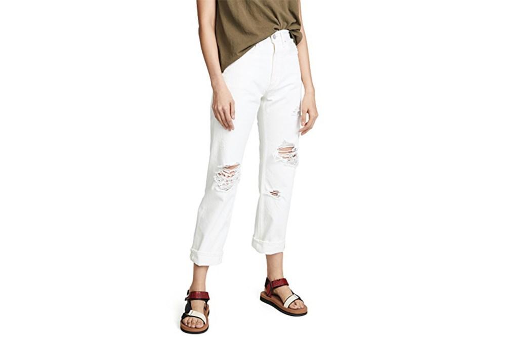 MOUSSY VINTAGE MV Hialeah Wide Straight Jeans