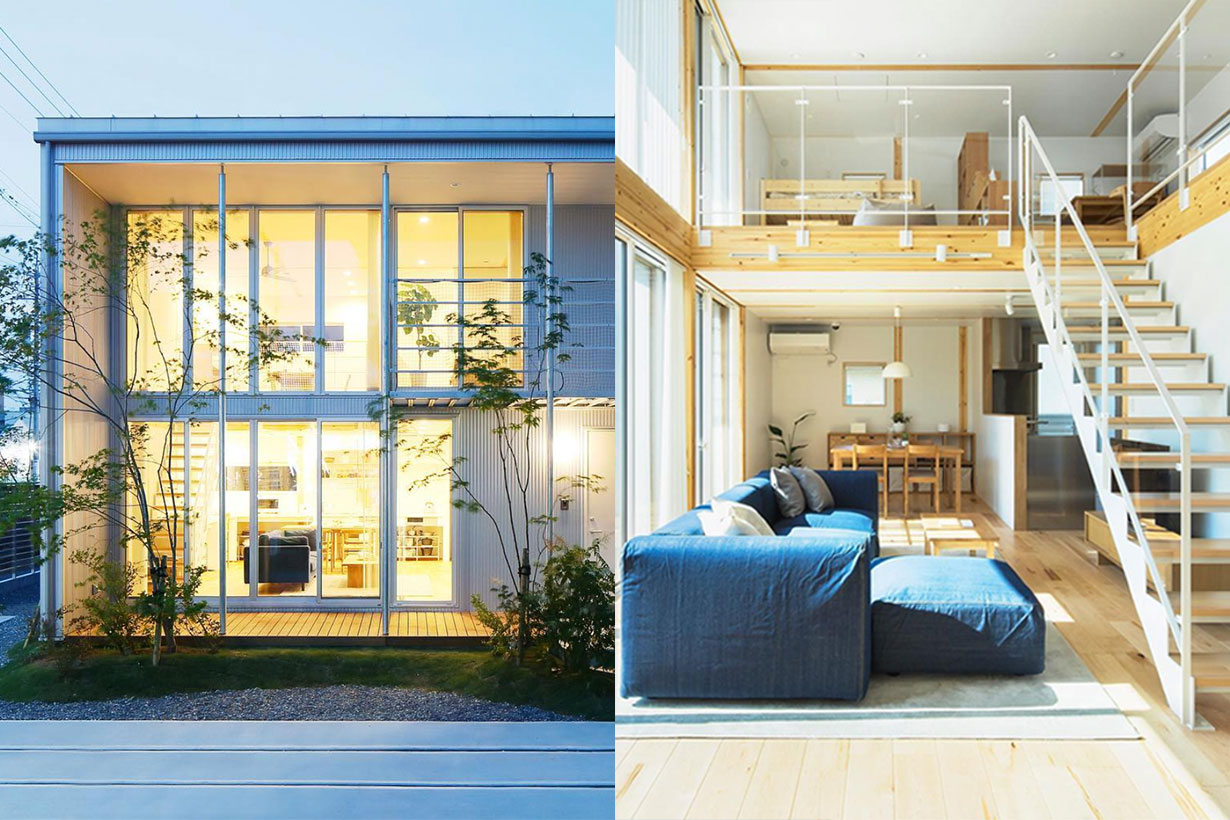Muji Offer Houses in Japan covering every aspect of living with Muji items