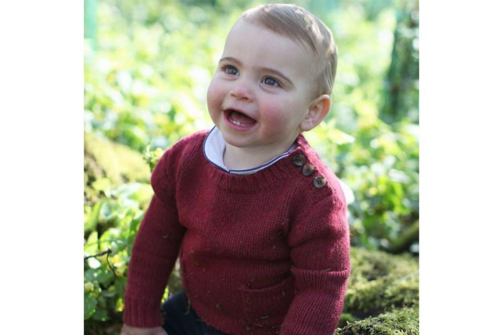 Prince Louis Birthday Portraits