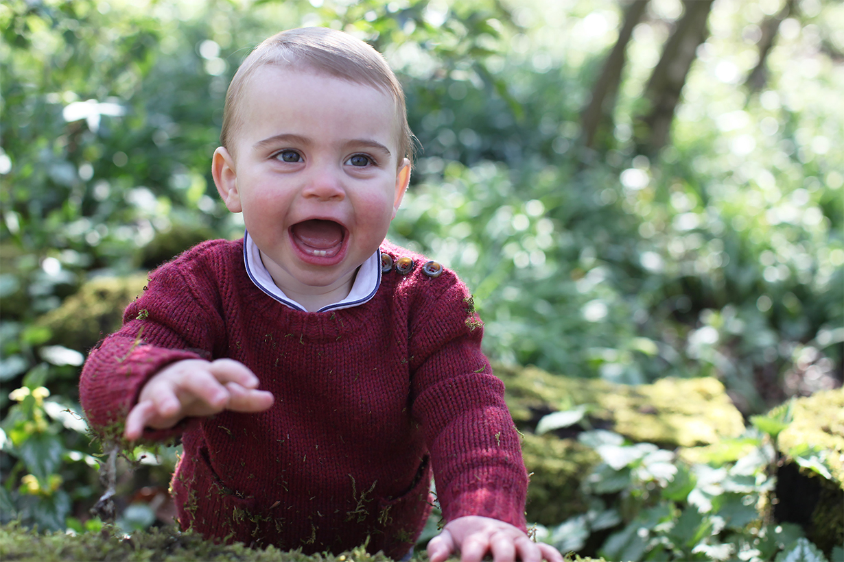 Prince Louis Shows Off His First Two Teeth in New Birthday Photos