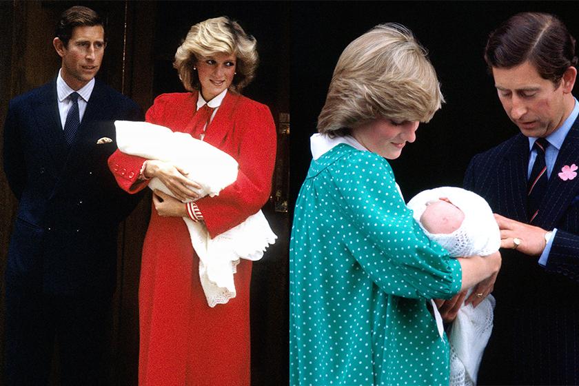princess diana after birth