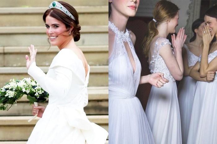 英國尤金妮公主的美,令這個顯瘦、優雅的婚紗設計人氣直升 200%!