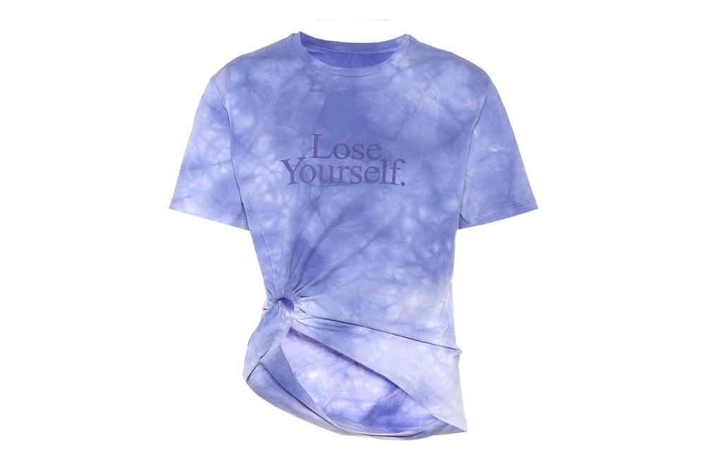 Paco Rabanne Printed Tie Dye T-shirt