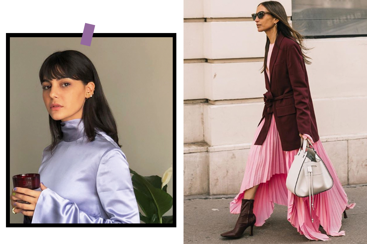 Pale Purple Will Make Any Outfit Look Expensive